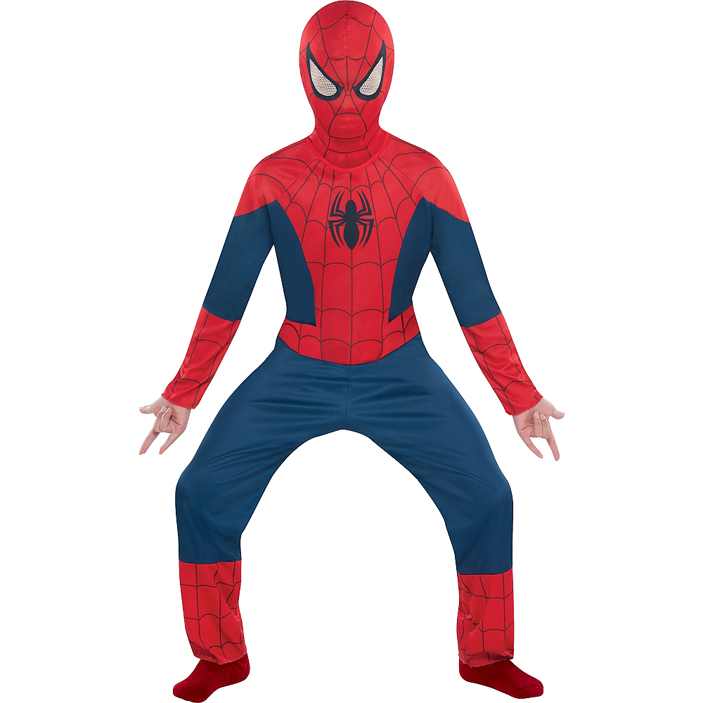 Nav Item for Boys Classic Spider-Man Costume Image #1
