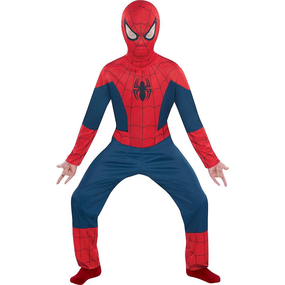 Boys Classic Spider-Man Costume Image #1