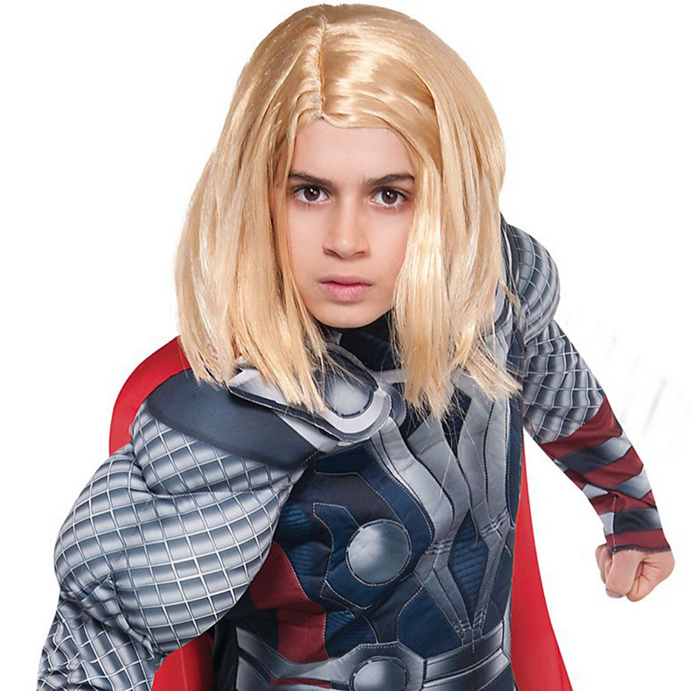 Boys Thor Muscle Costume - The Avengers Image #2