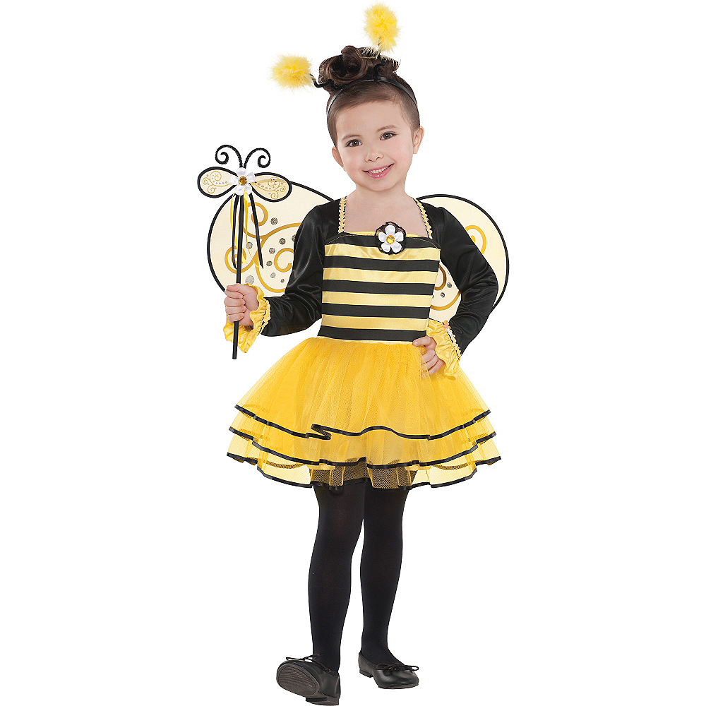 Girls Ballerina Bee Costume Image #1