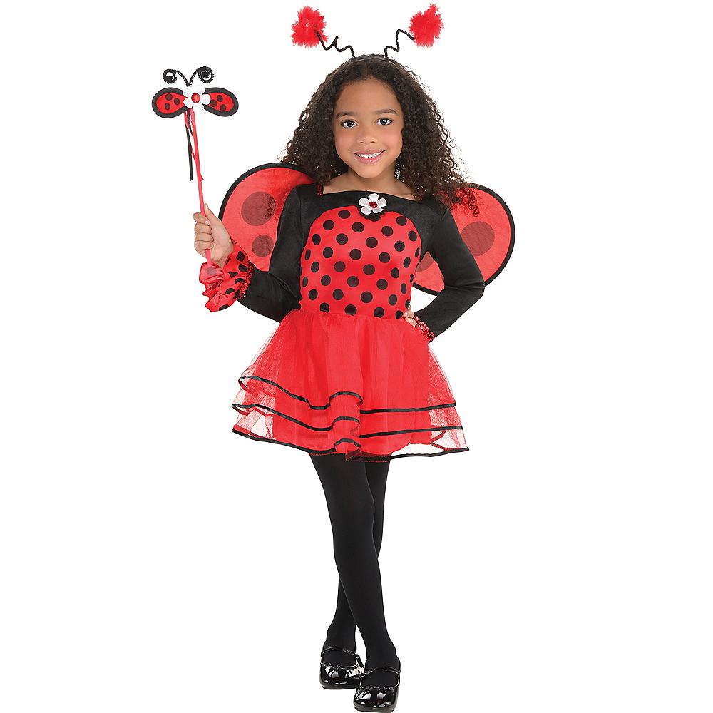 Toddler Girls Ballerina Ladybug Costume Image #1