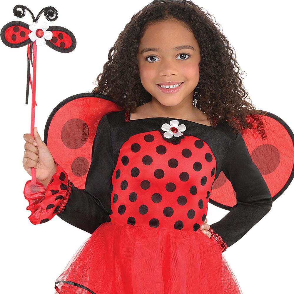 Toddler Girls Ballerina Ladybug Costume Image #3