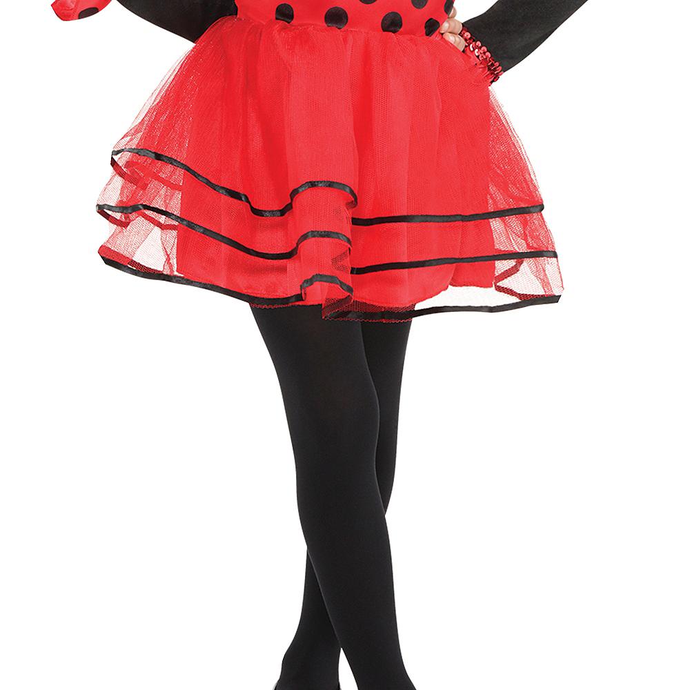 Toddler Girls Ballerina Ladybug Costume Image #4