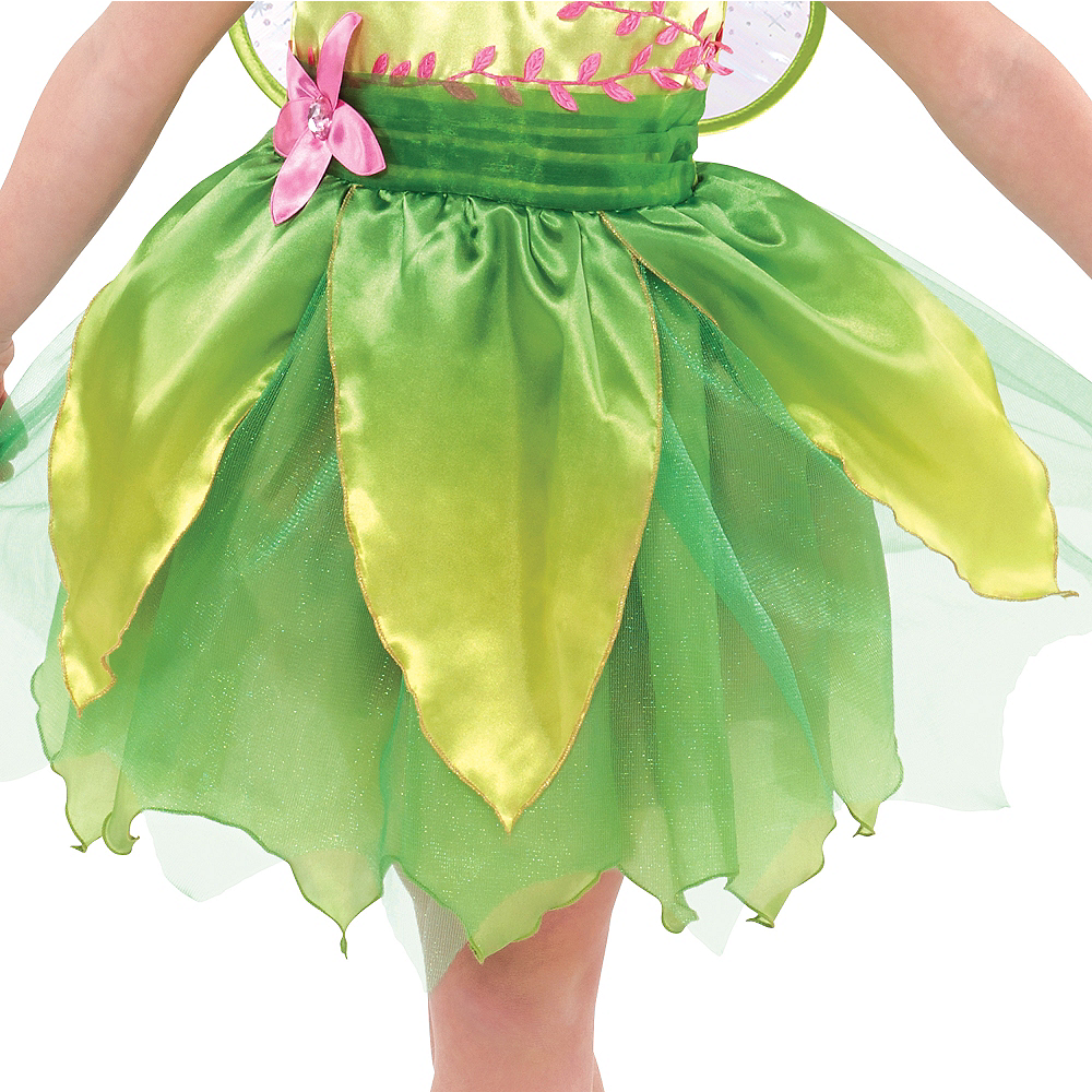 Girls Classic Tinker Bell Costume Image #3