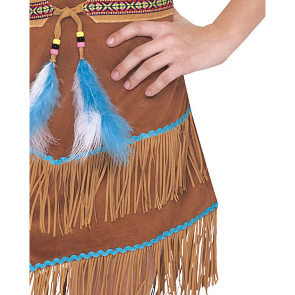 Girls Dream Catcher Cutie Native American Costume Image #3