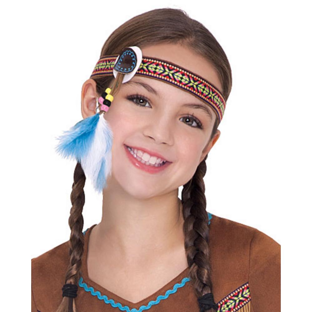 Girls Dream Catcher Cutie Native American Costume Image #5