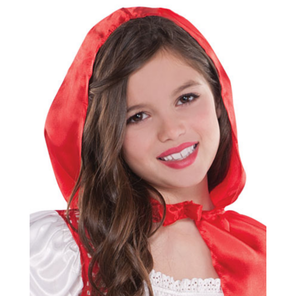 Girls Classic Red Riding Hood Costume Image #4