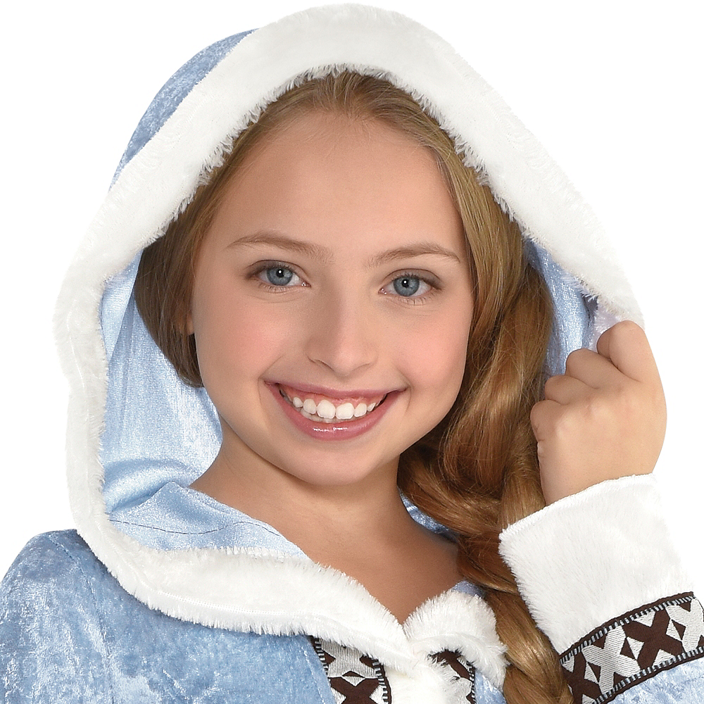 Nav Item for Girls Arctic Princess Costume Image #2