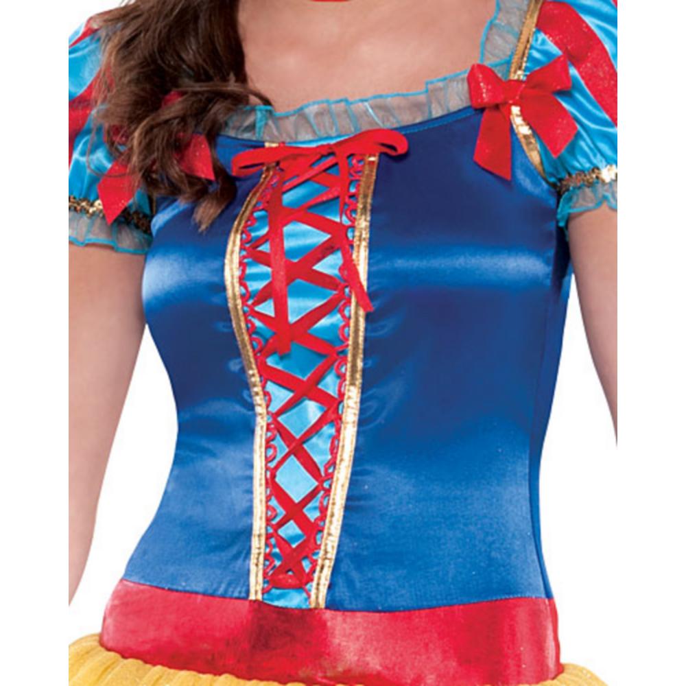 Teen Girls Snow White Costume Image #3