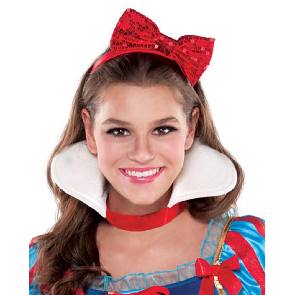 Teen Girls Snow White Costume Image #4