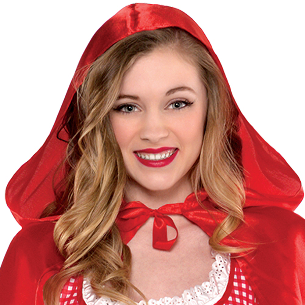 Teen Girls Miss Red Riding Hood Costume Image #2