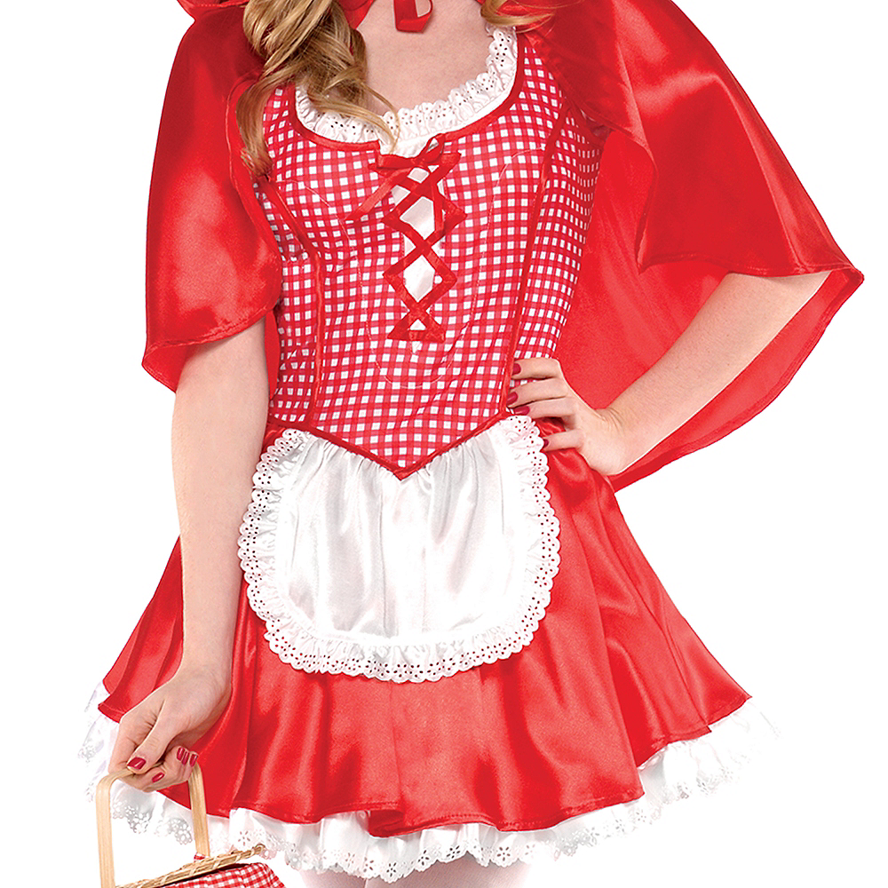 Teen Girls Miss Red Riding Hood Costume Image #3