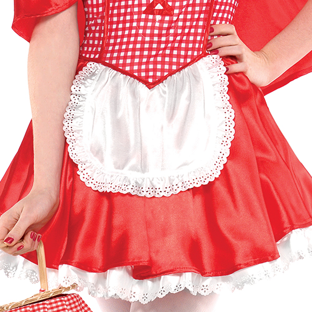 Teen Girls Miss Red Riding Hood Costume Image #4