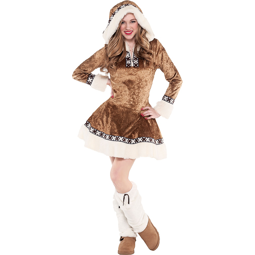 teen girls snow bunny costume | party city