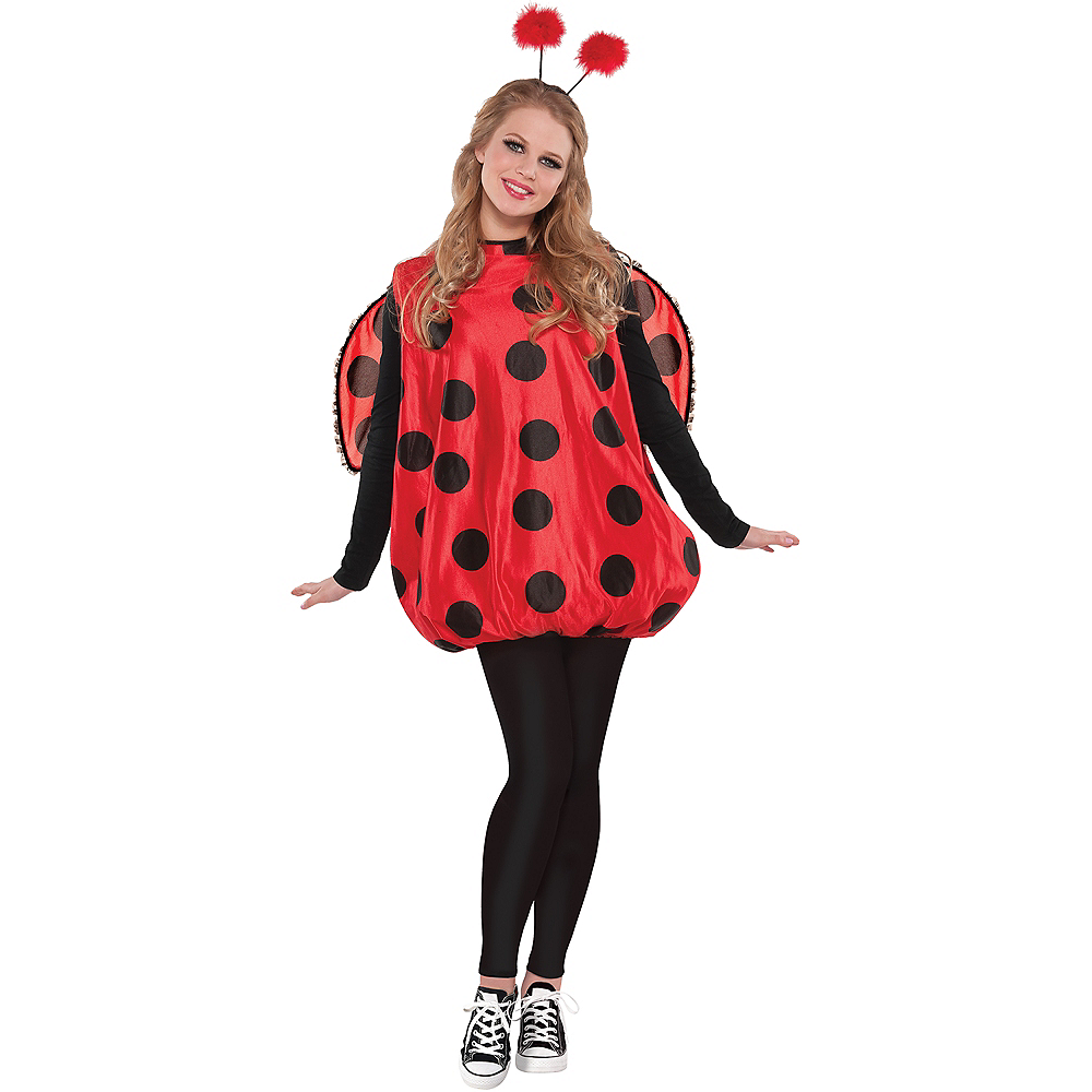 Nav Item for Adult Darling Ladybug Costume Image #1