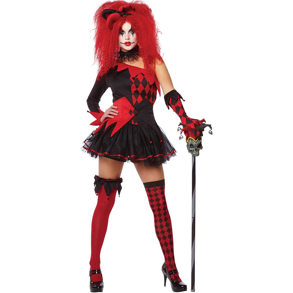 Adult Jesterina Costume Image #1