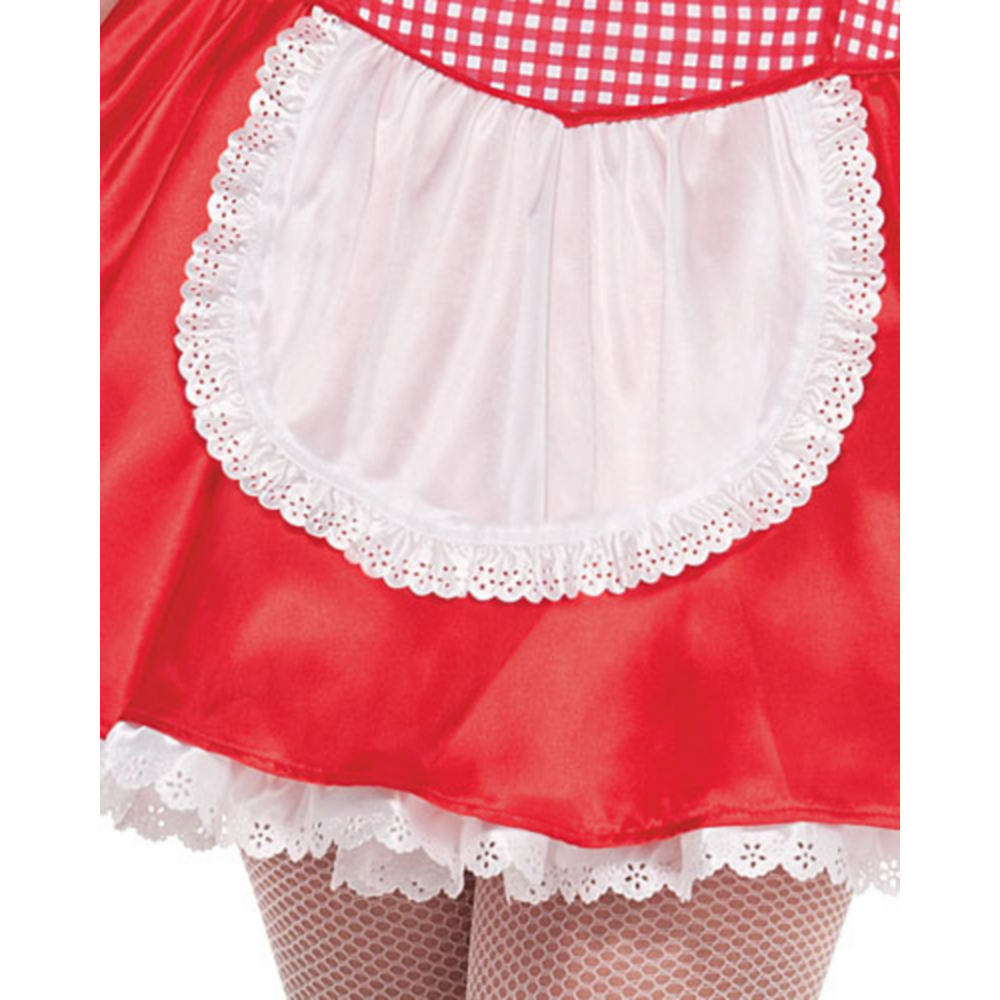 Adult Miss Red Riding Hood Costume Plus Size Image #2