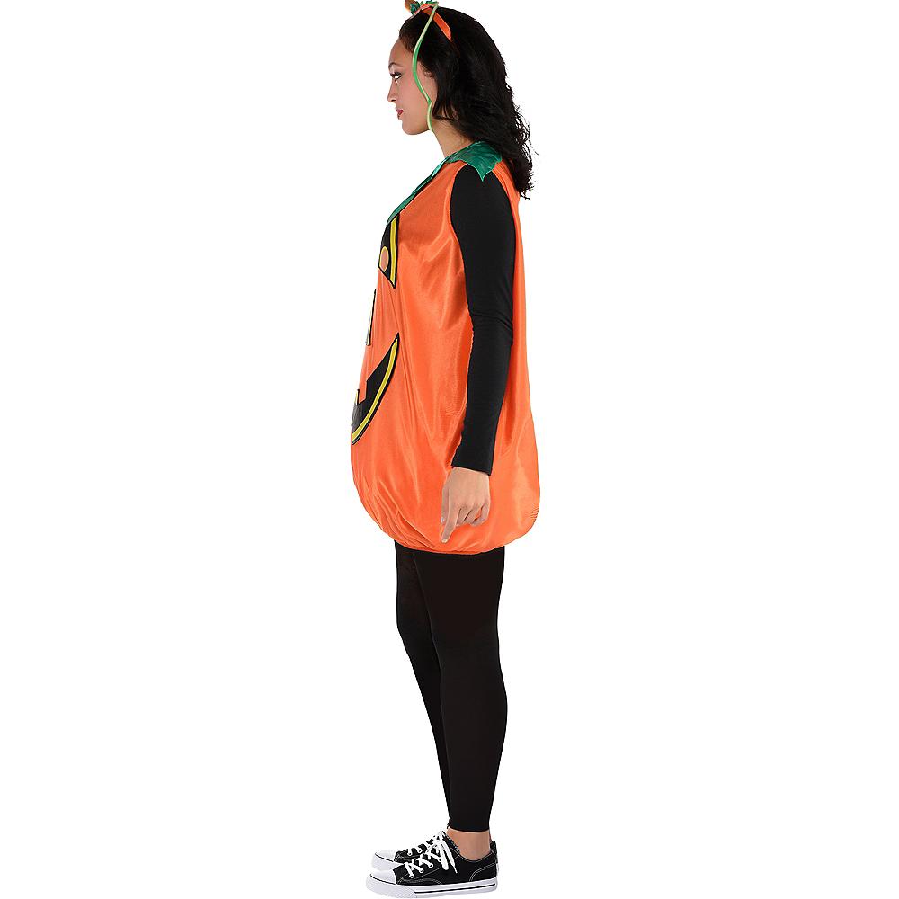 Adult Pretty Pumpkin Costume Image #3