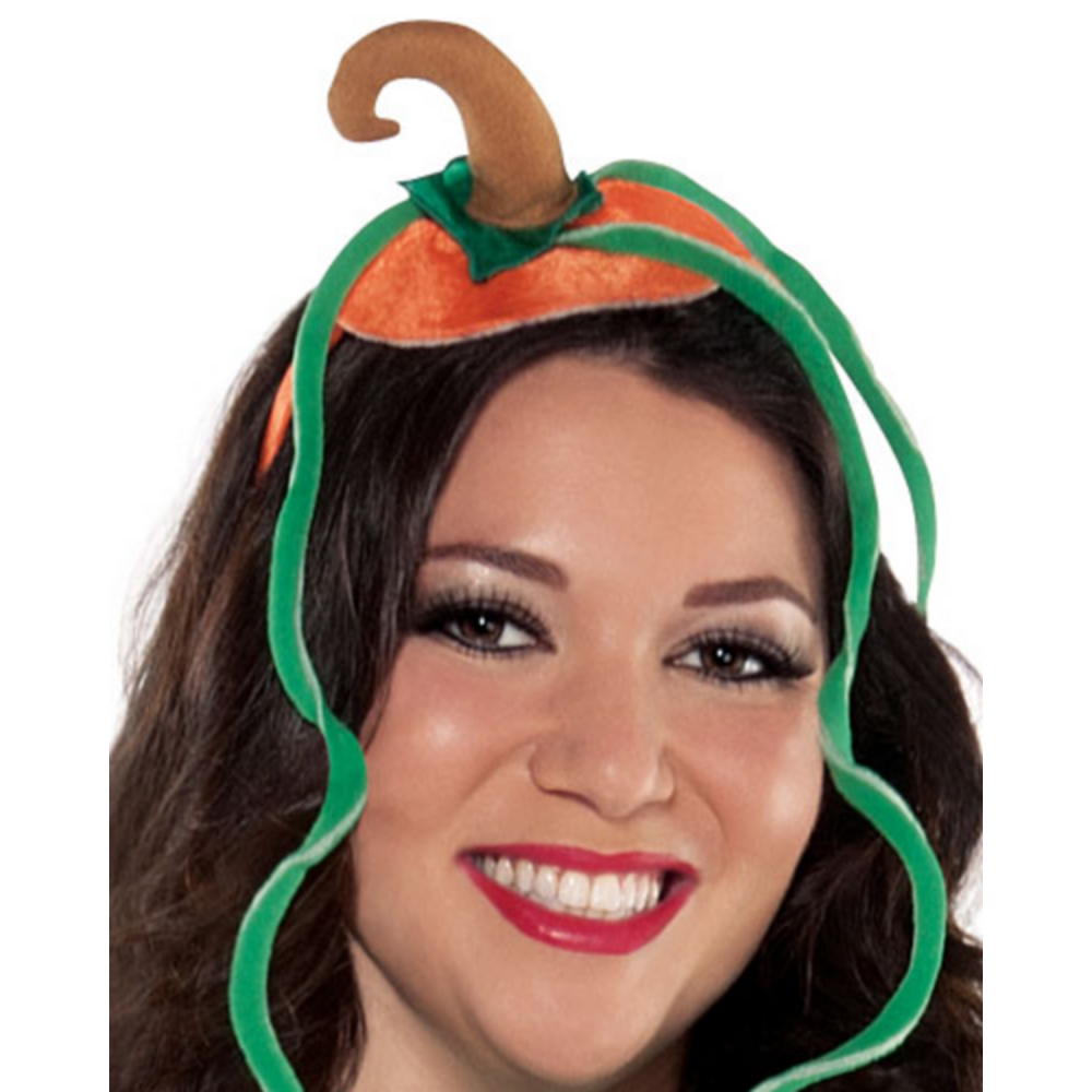 Nav Item for Adult Pretty Pumpkin Costume Plus Size Image #3