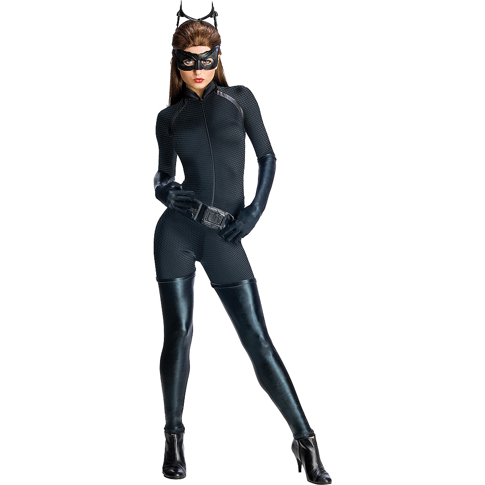Nav Item for Adult Catwoman Costume - The Dark Knight Rises Batman Image #1