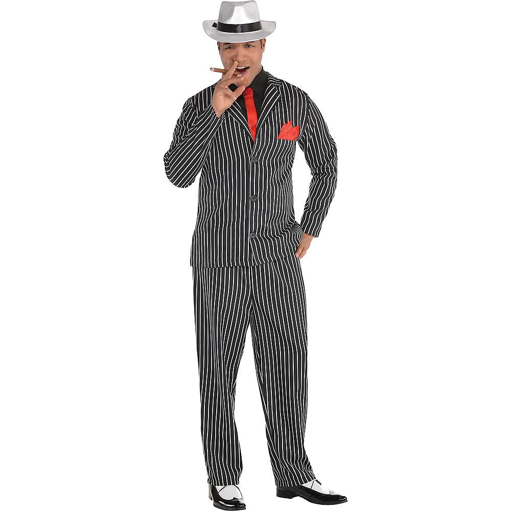 Adult Mob Boss Costume Image #1