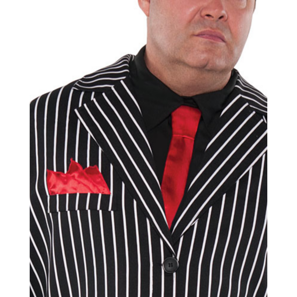 Nav Item for Adult Mob Boss Costume Plus Size Image #2
