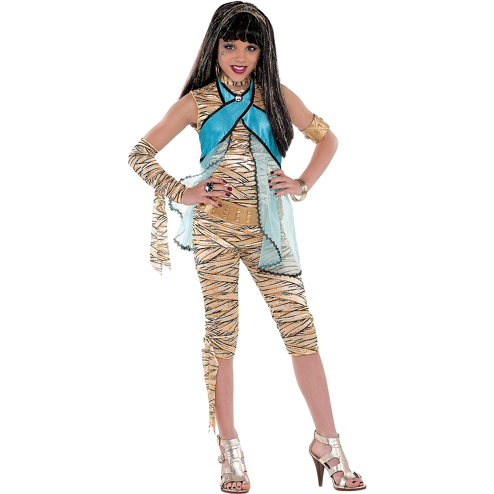 Girls Cleo de Nile Costume Deluxe - Monster High Image #1