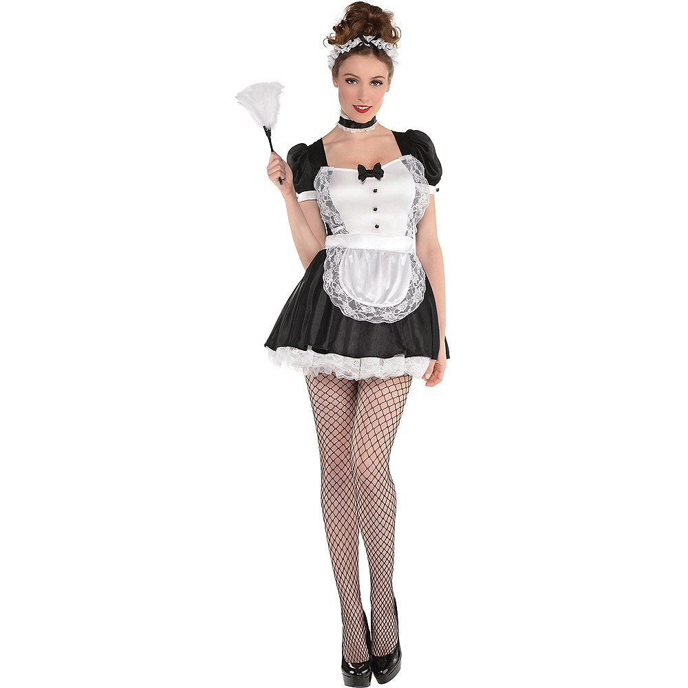 Nav Item for Adult Sassy Maid Costume Image #1