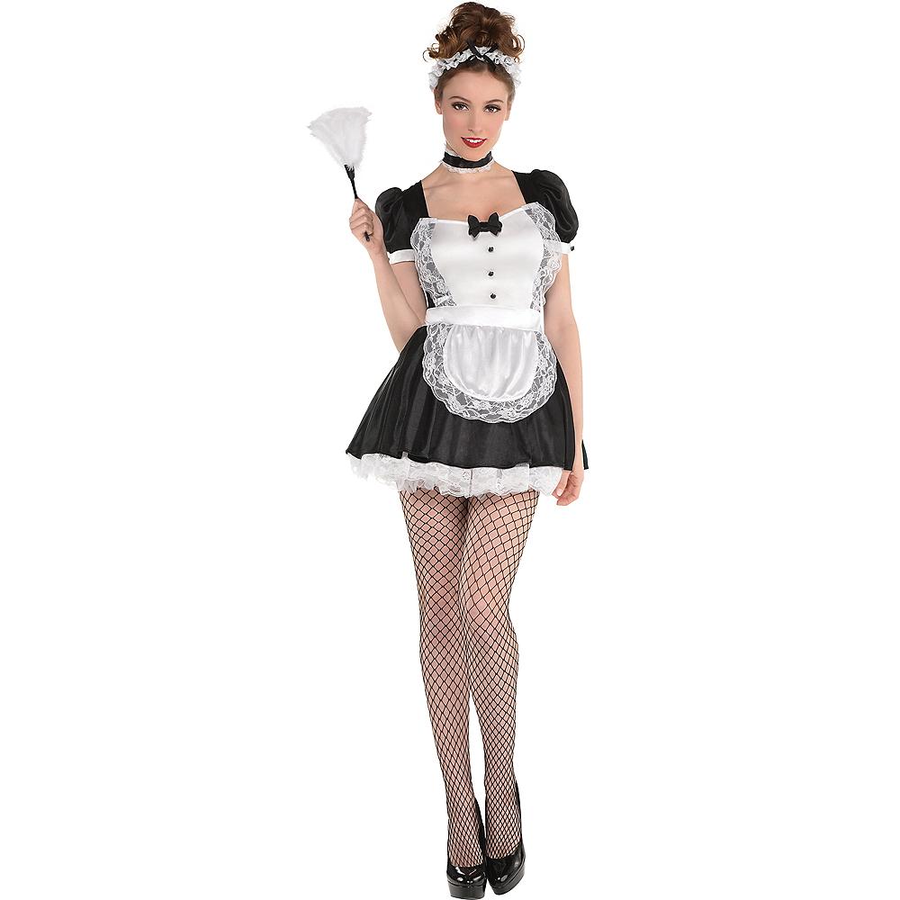 Adult Sassy Maid Costume Image #1