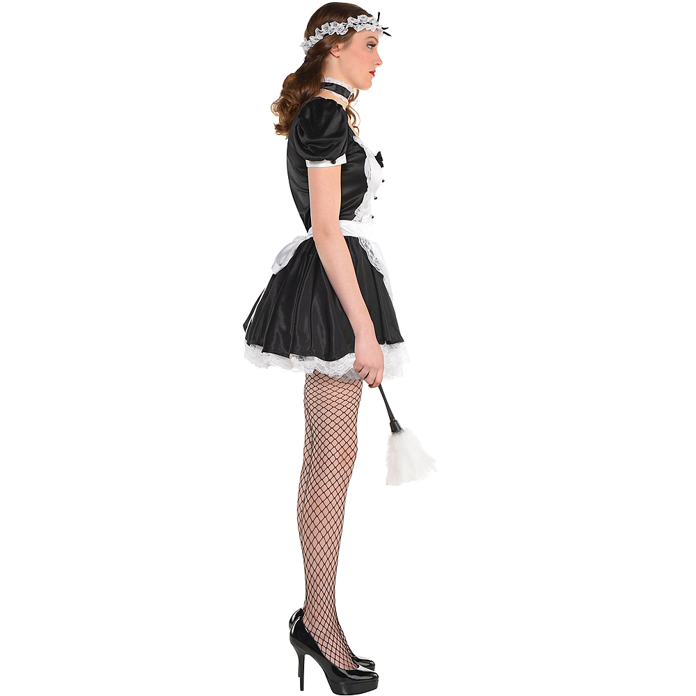 Nav Item for Adult Sassy Maid Costume Image #3