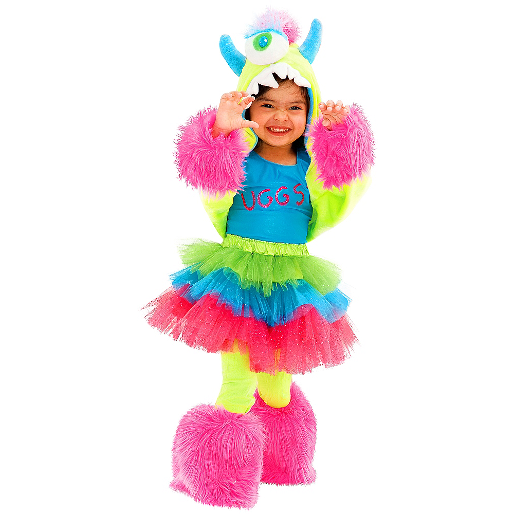 Toddler Girls Uggsy Costume Deluxe Image #1