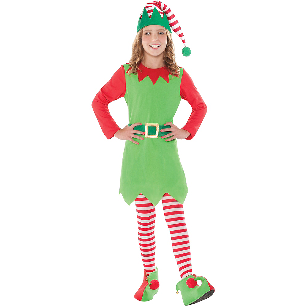 girls elf costume party city