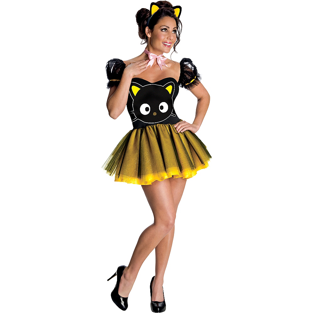Adult Chococat Costume Image #1