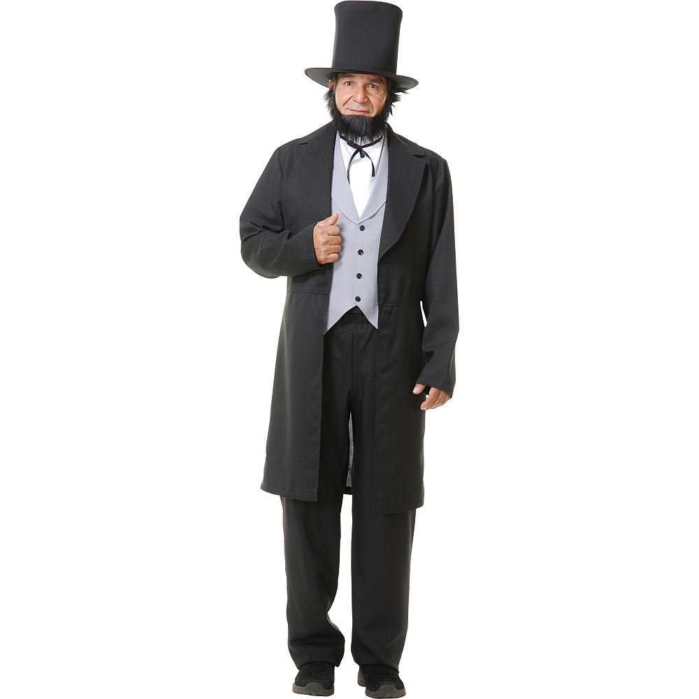 Adult Abraham Lincoln Costume Image #1