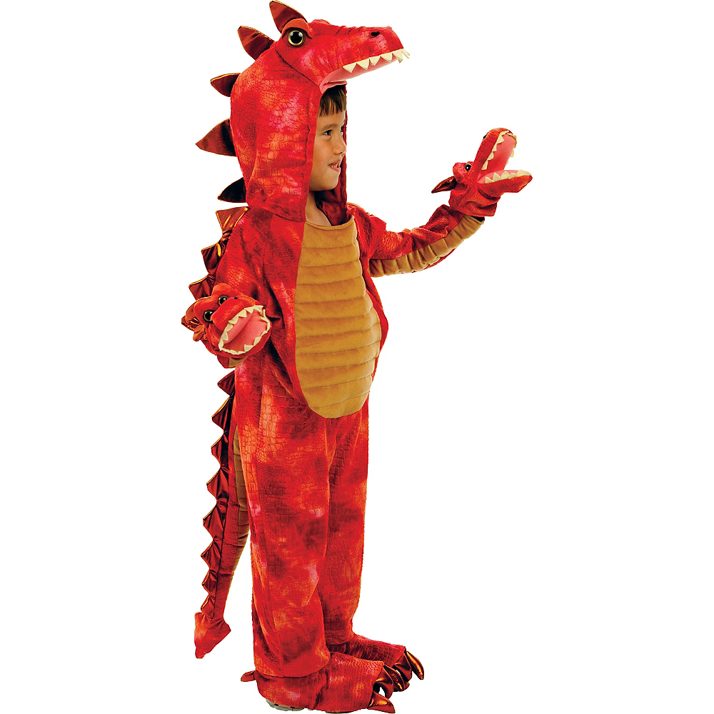 Boys Hydra 3-Headed Dragon Costume Deluxe Image #1