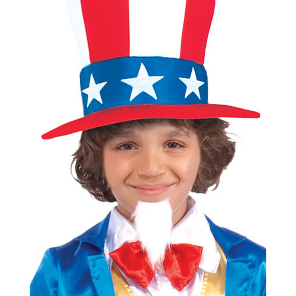 Boys Uncle Sam Costume Deluxe Image #2