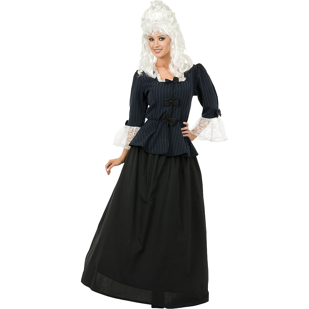 Adult Martha Washington Costume Image #1