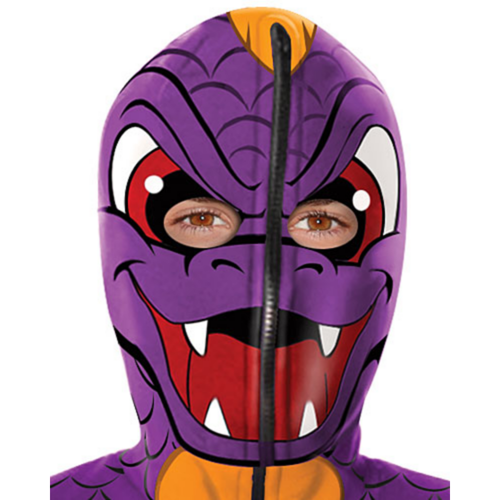 Boys Spyro Hoodie Costume - Skylanders Image #2