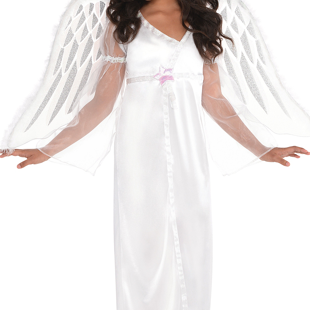 Girls Heavenly Angel Costume Image #3