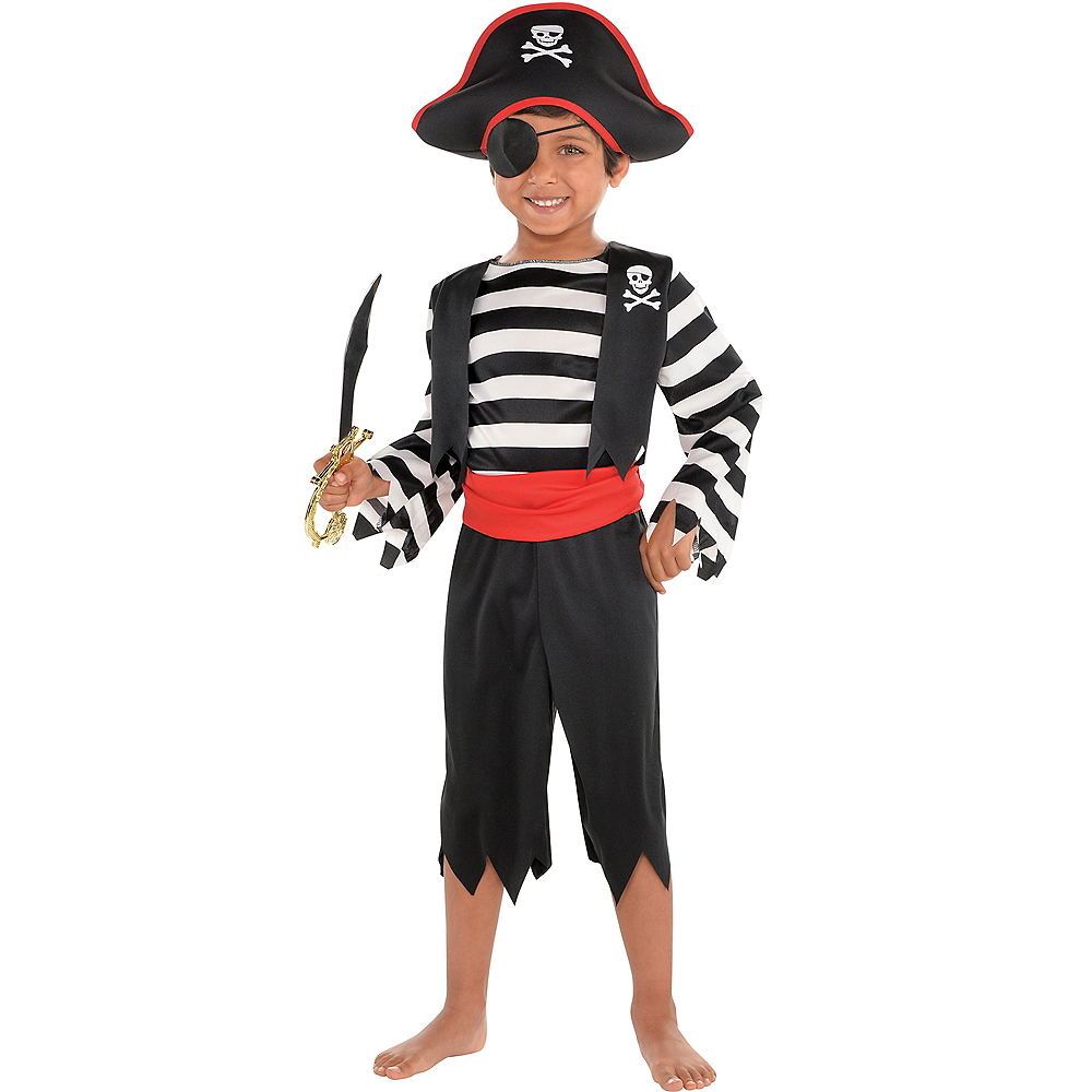 Toddler Boys Rascal Pirate Costume Image #1