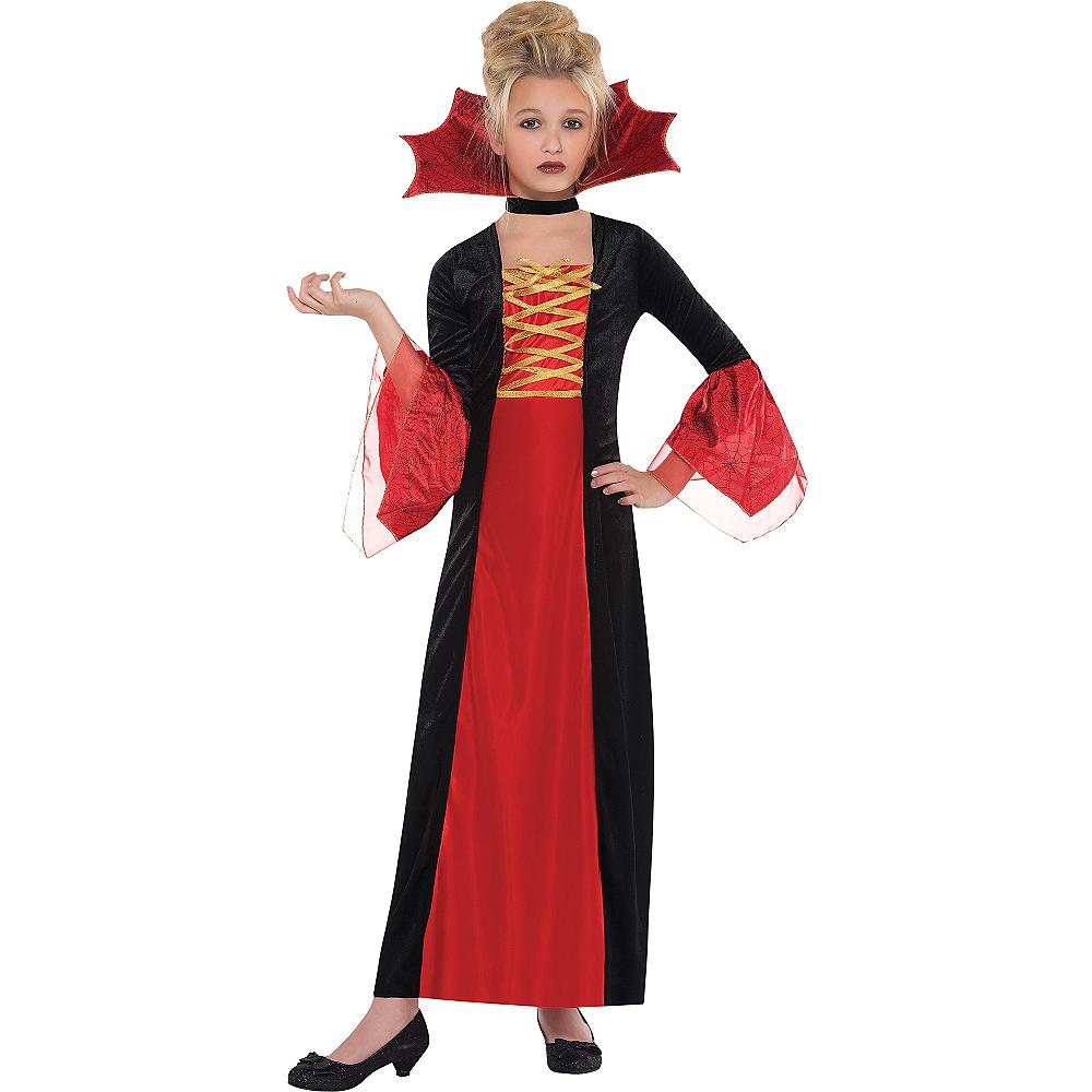 Girls Gothic Princess Costume Image #1