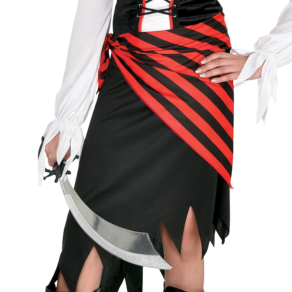 Girls Buccaneer Beauty Pirate Costume Image #4