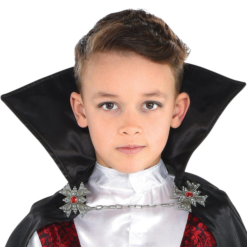 Boys Dark Vampire Costume Image #4