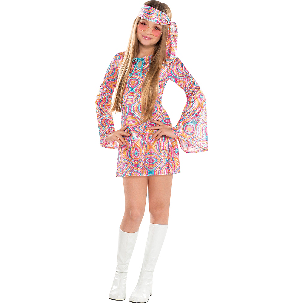 Girls Disco Diva Costume Image #1