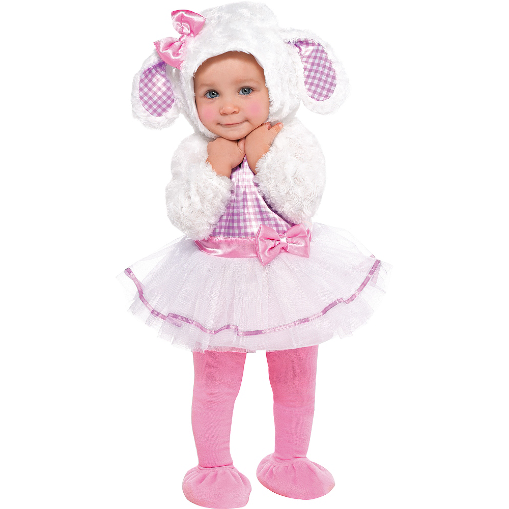 Baby Little Lamb Costume Image #1