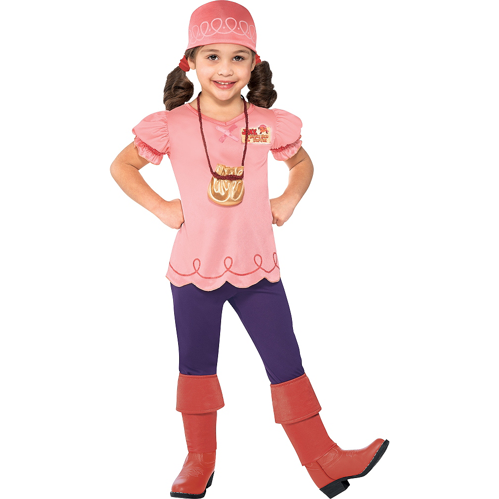 Toddler Girls Izzy Costume - Jake and the Never Land Pirates Image #1