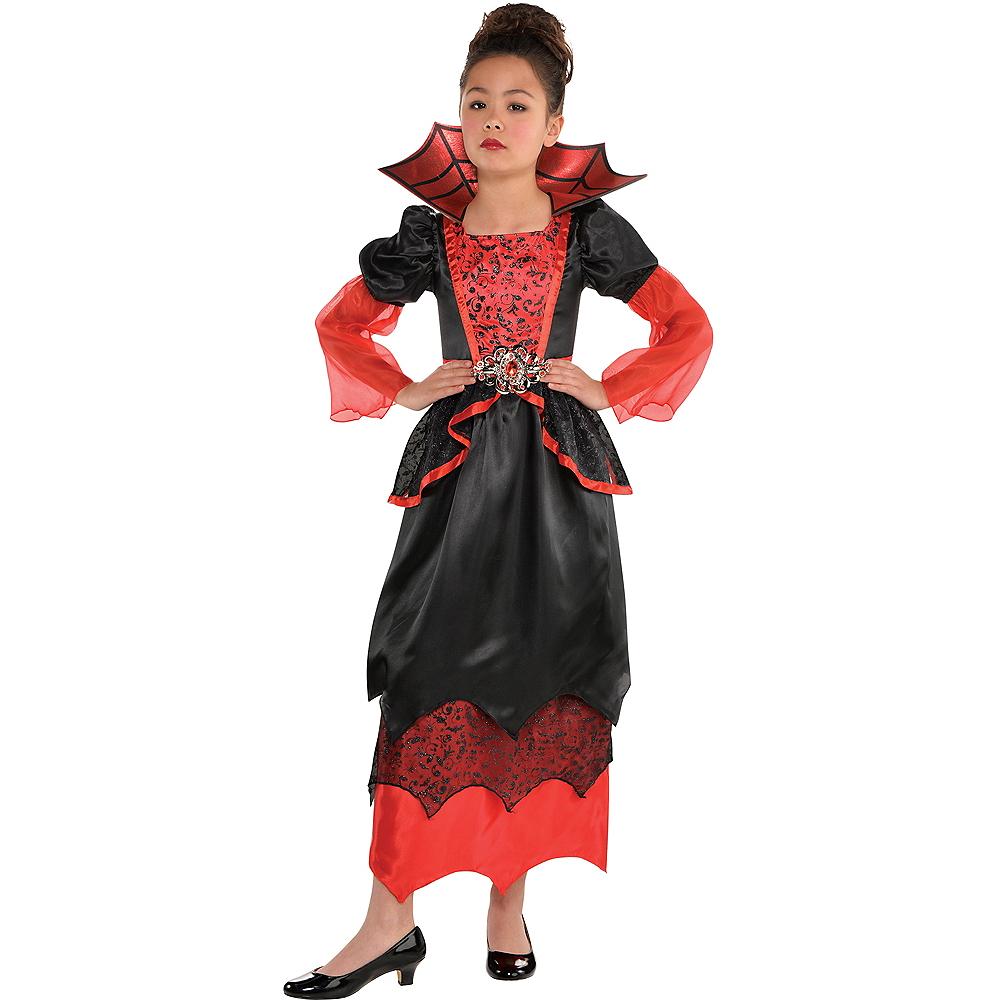 Girls Vampire Queen Costume Image #1