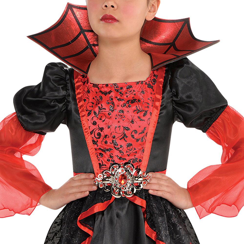 Girls Vampire Queen Costume Image #2