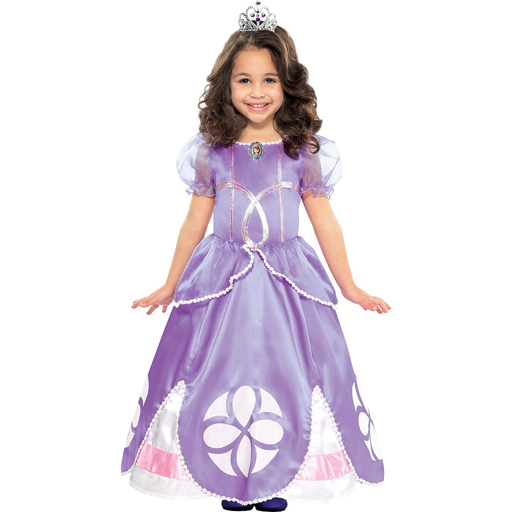 Nav Item for Toddler Girls Sofia the First Costume Image #1