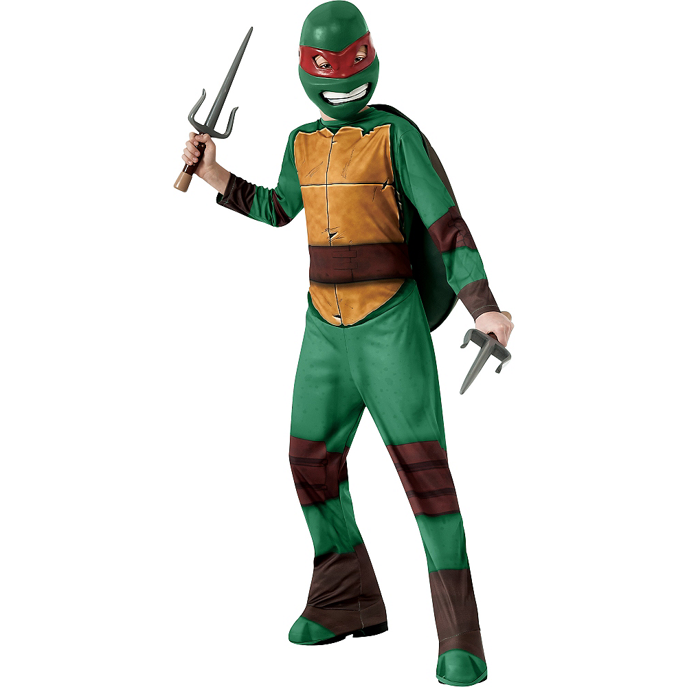 Boys Raphael Costume - Teenage Mutant Ninja Turtles Image #1